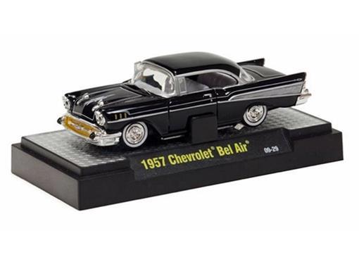Chevrolet: Bel Air (1957) - Preto - Auto Dreams - 1:64