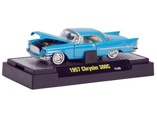 Chrysler: 300C (1957) - Azul - Auto Thentics - 1:64