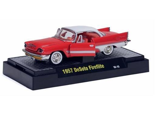 DeSoto: Fireflite (1957) - Laranja - Auto Thentics - 1:64