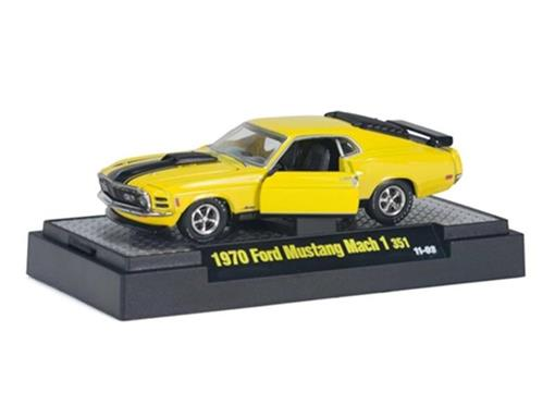 Ford: Mustang Mach 1 351 (1970) - Detroit Muscle - 1:64