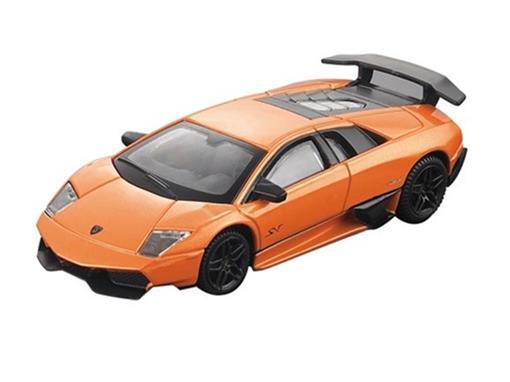 Lamborghini: Murciélago LP 670-4 SV - Laranja - 1:43
