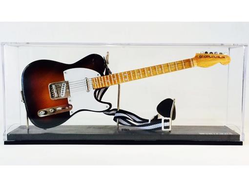 Miniatura de Guitarra Telecaster - Sun Burst (Acrilico) - 1:4