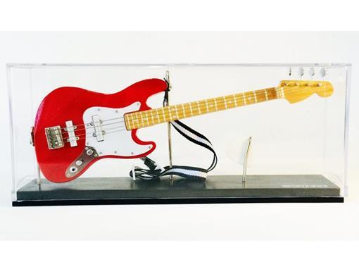 Miniatura Baixo Elétrico Jass Bass - Vermelho (Acrilico) - 1:4
