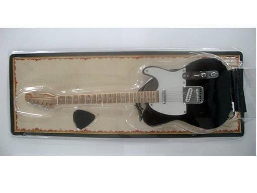 Miniatura de Guitarra Telecaster - Preta (Blister) - 1:4