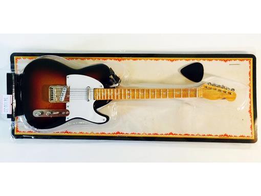Miniatura de Guitarra Telecaster - Sun Burst (Blister) - 1:4