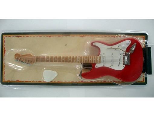 Miniatura de Guitarra Stratocaster - Vermelha (Blister) - 1:4