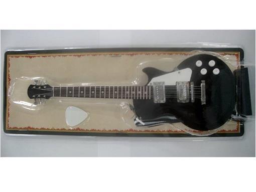 Miniatura de Guitarra Les Paul - Preta (Blister) - 1:4