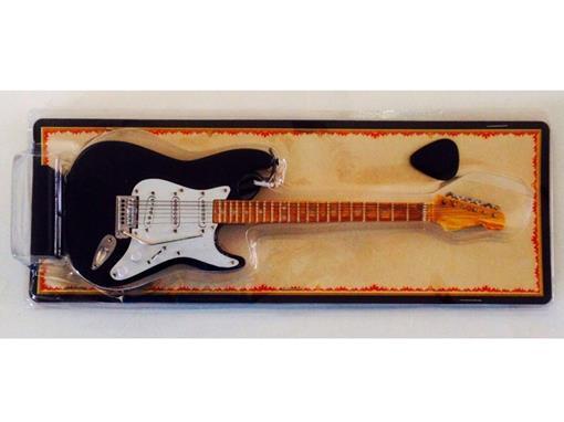 Miniatura de Guitarra Stratocaster - Preta (Blister) - 1:4