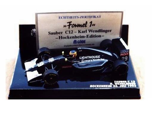 Sauber: C 12  K. Wendlinger (1993) - 1:43