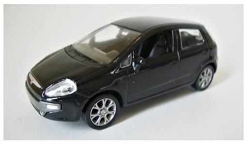 Fiat: Punto - Preto - 1:43