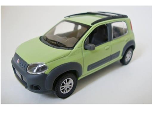 Fiat: Uno Way - Verde - 1:43
