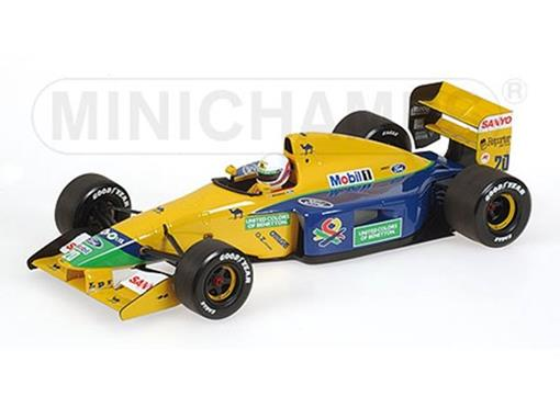 Benetton Ford: B191B M. Brundle - Early Season 1992 - 1:18