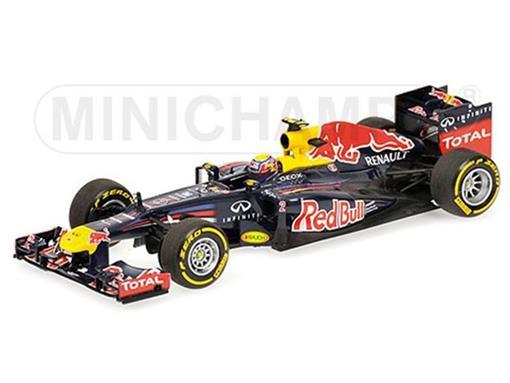 Red Bull Racing: Sebastian Vettel SHOWCAR 2012 - 1:18