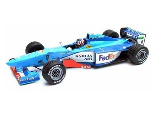 Benetton F1: B198 - Alexander Wurz (1998) - 1:18