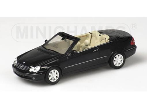 Mercedes Benz: CLK-Class (A209) Conversível (2003) - 1:43 - Minichamps
