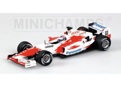 Panasonic Toyota Racing: TF104 Olivier Panis (2004) - 1:43