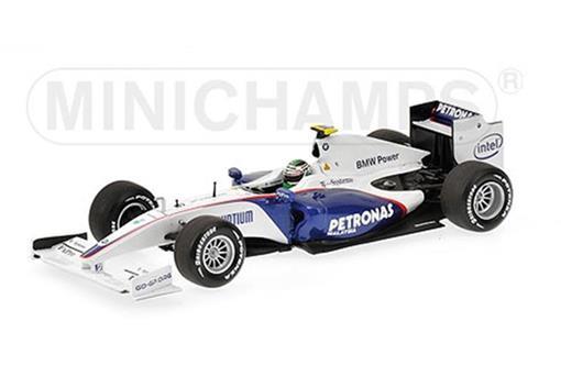 BMW Sauber F1: Nick Heidfeld SHOWCAR 2009 - 1:43