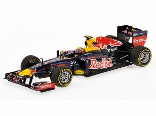 Red Bull Racing Renault: M. Webber - SHOWCAR 2012 - 1:43
