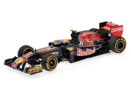 Scuderia Toro Rosso: J.-E. Vergne (SHOWCAR 2012) - 1:43