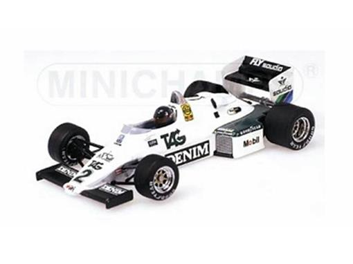 Williams Ford F1: FW08C - Jacques Laffite (1983) - 1:43