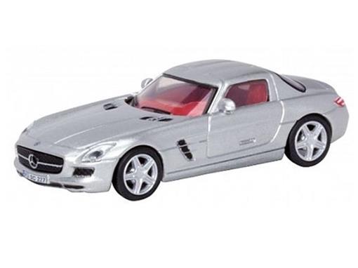 Mercedes Benz: SLS AMG Coupé - Prata - HO