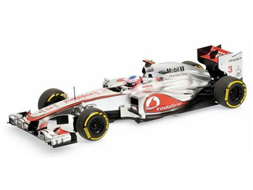 Vodafone McLaren Mercedes: MP4-27 (2012) J. Button - 1:18