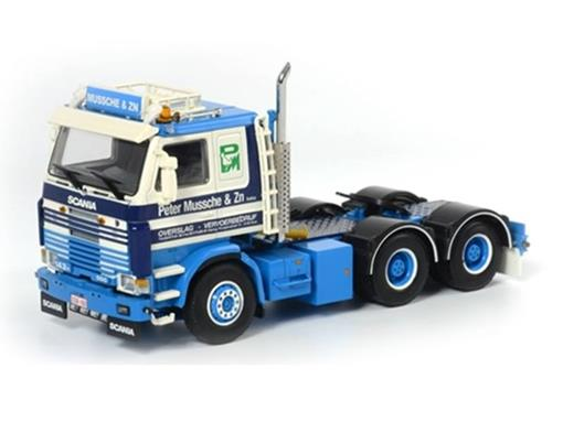 Scania: R143 6x4 - Peter Mussche - Cavalo - 1:50