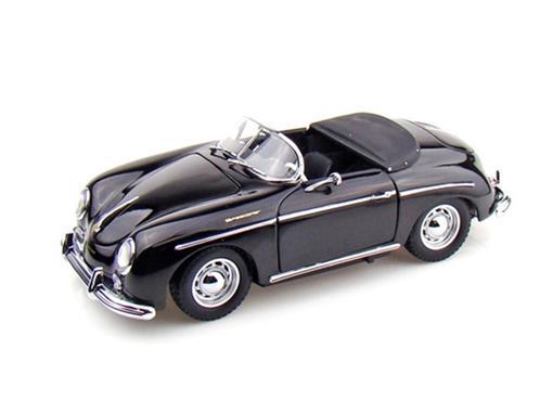 Porsche: 356A Speedster - Preto - 1:18