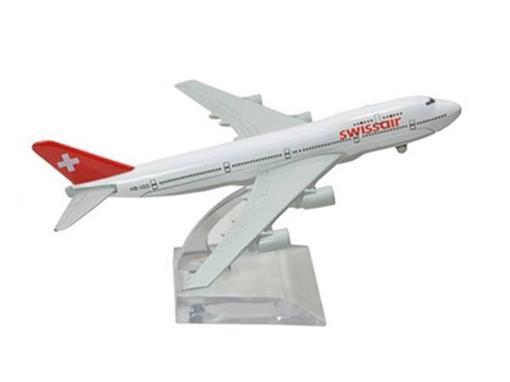 Swissair: Boeing 747 - 16cm