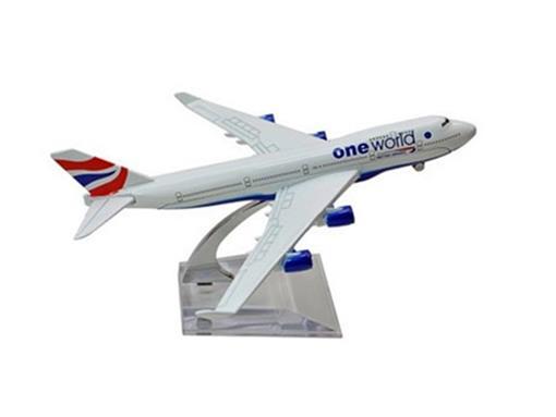 British Airways: Boeing 747 - 16cm