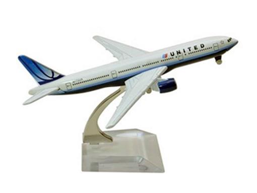 United Airlines: Boeing 777 - 16cm