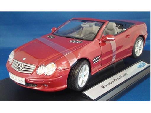 Mercedes Benz: SL-500 Conversível - 1:18