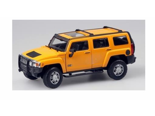 Hummer: H3 - Amarelo - 1:24