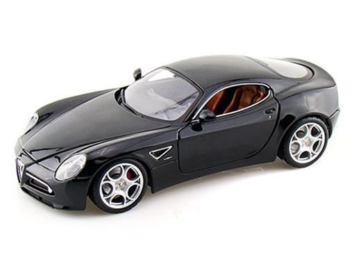 Alfa Romeo: 8C Competizione - Preto - 1:18