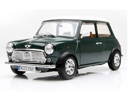 Mini Cooper: 1969 - Verde - 1:18