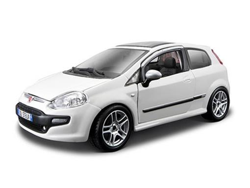 Fiat: Punto Evo - Branco - 1:24