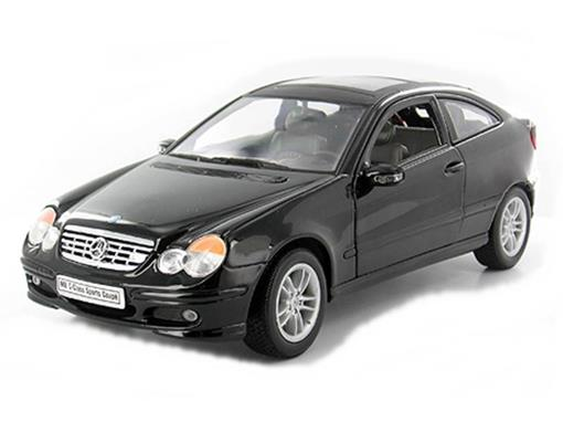 Mercedes Benz: C-Class Sports Coupé - 1:18