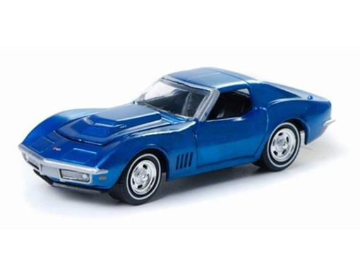 Chevrolet: Corvette (1968) - Zine Machines - Série 1 - 1:64