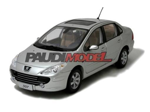 Peugeot: 307 Sedan (2007) - Prata - 1:18