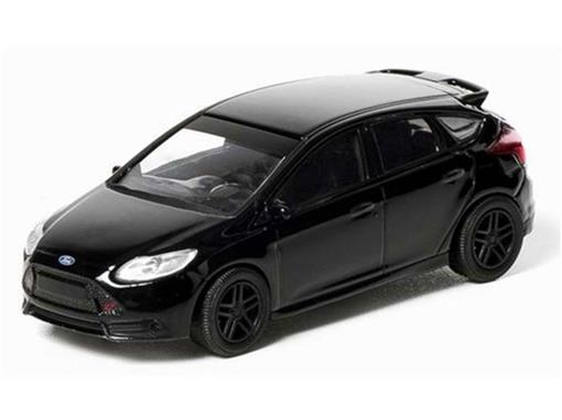 Ford: Focus (2012) - Black Bandit - Série 7 - 1:64