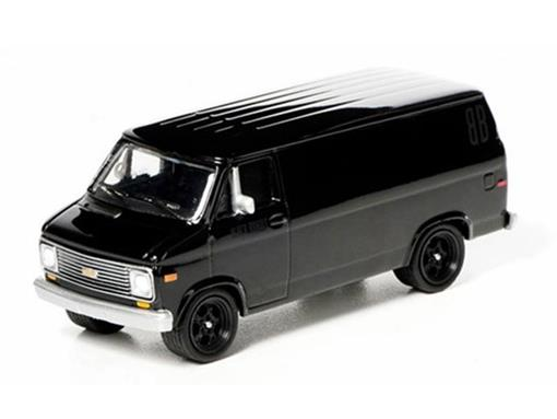 Chevrolet: G20 Van (1977) - Black Bandit - Série 7 - 1:64