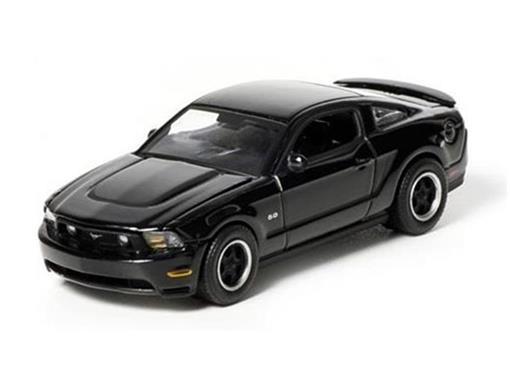 Ford: Mustang GT (2012) - Black Bandit - Série 7 - 1:64