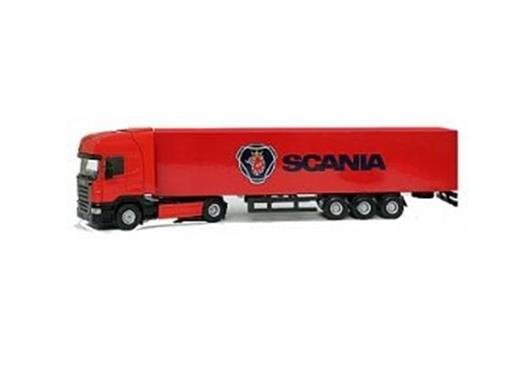 Scania: R Topline - Baú - 1:50