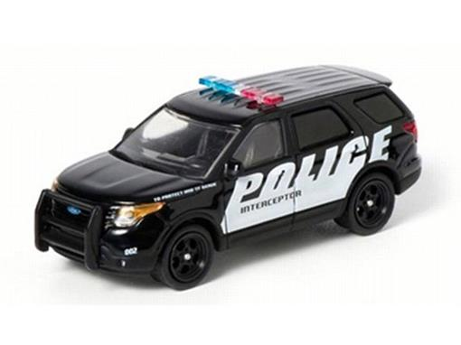 Ford: Explorer (2013) - Police - Hot Pursuit - Série 10 - 1:64