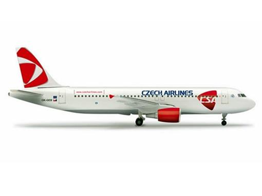 CSA Czech Airlines: Airbus A320 - 1:500