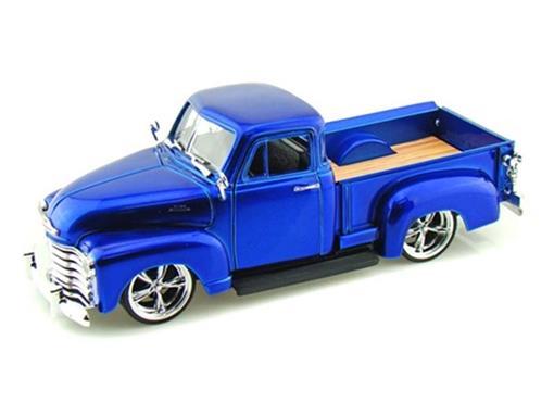Chevrolet: Pickup (1953) - Azul - 1:24