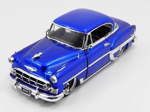 Chevrolet: Bel Air (1953) - Azul - 1:24