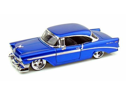 Chevrolet: Bel Air (1956) - Azul - 1:24