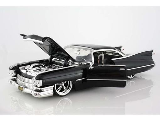 Cadillac: Coupe De Ville (1959) - Preto - 1:24