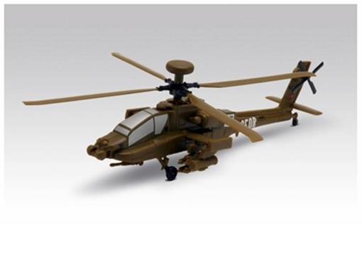 Boeing IDS: AH-64D Apache - Kit p/ montar - 1:100